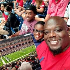 DHannah attended Houston Texans vs. Jacksonville Jaguars - NFL on Sep 12th 2021 via VetTix