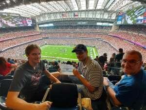 Tom attended Houston Texans vs. Jacksonville Jaguars - NFL on Sep 12th 2021 via VetTix