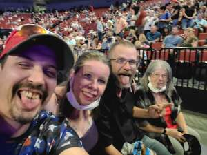 James attended Alabama's 50th Anniversary Tour on Sep 16th 2021 via VetTix