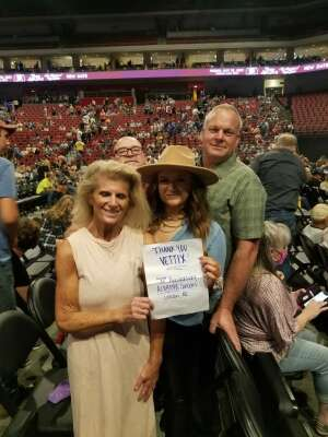 Alabama/Marshall Tucker Band Concert attended Alabama's 50th Anniversary Tour on Sep 16th 2021 via VetTix