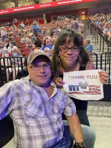 Michelle attended Alabama's 50th Anniversary Tour on Sep 16th 2021 via VetTix