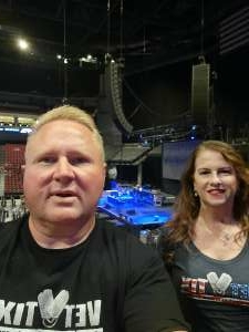 Shane and Mary Welsh attended Alabama's 50th Anniversary Tour on Sep 16th 2021 via VetTix