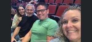 Patrick attended Alabama's 50th Anniversary Tour on Sep 16th 2021 via VetTix