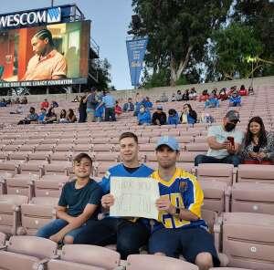 Salvador Ricardo Jimenez attended UCLA vs. Fresno State on Sep 18th 2021 via VetTix