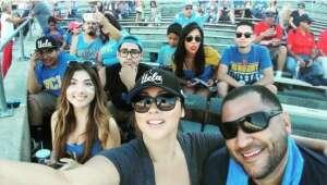 SSgt Mario Perez attended UCLA vs. Fresno State on Sep 18th 2021 via VetTix
