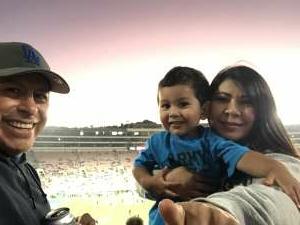 1SG Flores, Billy attended UCLA vs. Fresno State on Sep 18th 2021 via VetTix