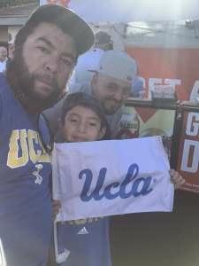 Steve attended UCLA vs. Fresno State on Sep 18th 2021 via VetTix