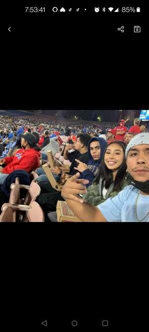 Brian attended UCLA vs. Fresno State on Sep 18th 2021 via VetTix
