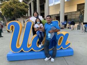 Jose attended UCLA vs. Fresno State on Sep 18th 2021 via VetTix
