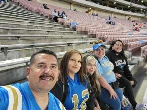 Navyguy92 attended UCLA vs. Fresno State on Sep 18th 2021 via VetTix