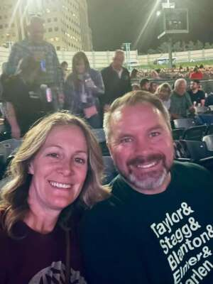 Aaron and Krista attended Lady a What a Song Can Do Tour 2021 on Sep 23rd 2021 via VetTix