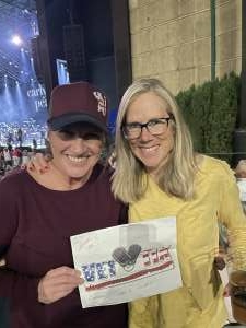 Kim attended Lady a What a Song Can Do Tour 2021 on Sep 23rd 2021 via VetTix