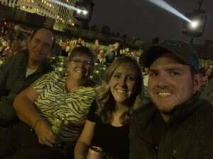 Our Fam  attended Lady a What a Song Can Do Tour 2021 on Sep 23rd 2021 via VetTix