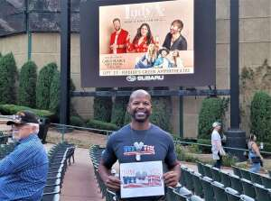 C.T. Green attended Lady a What a Song Can Do Tour 2021 on Sep 23rd 2021 via VetTix