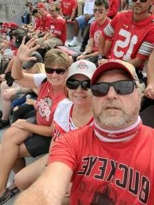 Larry attended Ohio State Buckeyes vs. Oregon Ducks - NCAA Football on Sep 11th 2021 via VetTix