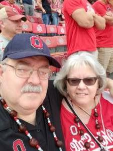 Chuck attended Ohio State Buckeyes vs. Oregon Ducks - NCAA Football on Sep 11th 2021 via VetTix
