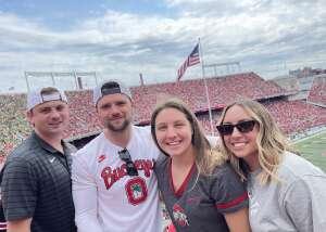 Nicole attended Ohio State Buckeyes vs. Oregon Ducks - NCAA Football on Sep 11th 2021 via VetTix