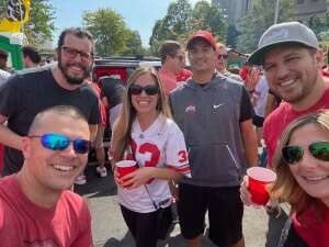 Dave attended Ohio State Buckeyes vs. Oregon Ducks - NCAA Football on Sep 11th 2021 via VetTix