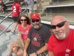 Jim  attended Ohio State Buckeyes vs. Oregon Ducks - NCAA Football on Sep 11th 2021 via VetTix