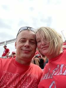 Quinn Family  attended Ohio State Buckeyes vs. Oregon Ducks - NCAA Football on Sep 11th 2021 via VetTix
