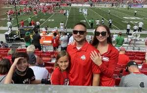Ryan Clay attended Ohio State Buckeyes vs. Oregon Ducks - NCAA Football on Sep 11th 2021 via VetTix