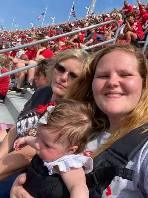 Jenn attended Ohio State Buckeyes vs. Oregon Ducks - NCAA Football on Sep 11th 2021 via VetTix
