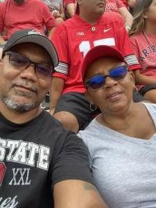 Lewis attended Ohio State Buckeyes vs. Oregon Ducks - NCAA Football on Sep 11th 2021 via VetTix