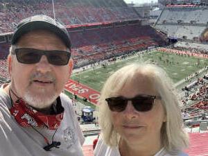 Steven & Joyce attended Ohio State Buckeyes vs. Oregon Ducks - NCAA Football on Sep 11th 2021 via VetTix