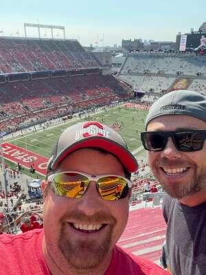 Craig attended Ohio State Buckeyes vs. Oregon Ducks - NCAA Football on Sep 11th 2021 via VetTix