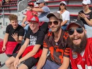 SSgt C attended Ohio State Buckeyes vs. Oregon Ducks - NCAA Football on Sep 11th 2021 via VetTix