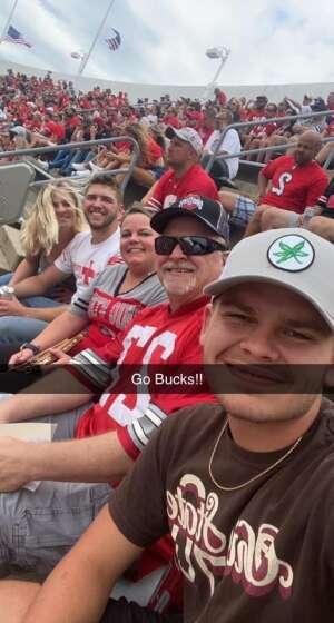 Jeffro  attended Ohio State Buckeyes vs. Oregon Ducks - NCAA Football on Sep 11th 2021 via VetTix