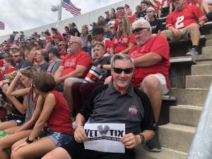 Rich B attended Ohio State Buckeyes vs. Oregon Ducks - NCAA Football on Sep 11th 2021 via VetTix