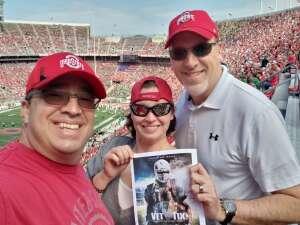 George attended Ohio State Buckeyes vs. Oregon Ducks - NCAA Football on Sep 11th 2021 via VetTix