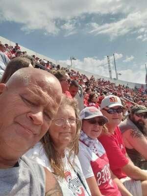 Ron attended Ohio State Buckeyes vs. Oregon Ducks - NCAA Football on Sep 11th 2021 via VetTix