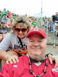 Bill attended Ohio State Buckeyes vs. Oregon Ducks - NCAA Football on Sep 11th 2021 via VetTix