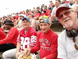 Bucks Fans attended Ohio State Buckeyes vs. Oregon Ducks - NCAA Football on Sep 11th 2021 via VetTix