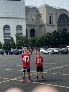 Eric  attended Ohio State Buckeyes vs. Oregon Ducks - NCAA Football on Sep 11th 2021 via VetTix