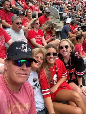 JohnB attended Ohio State Buckeyes vs. Oregon Ducks - NCAA Football on Sep 11th 2021 via VetTix