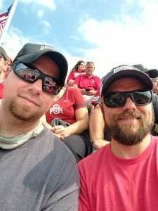 Greg attended Ohio State Buckeyes vs. Oregon Ducks - NCAA Football on Sep 11th 2021 via VetTix