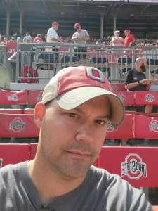 Chris M attended Ohio State Buckeyes vs. Oregon Ducks - NCAA Football on Sep 11th 2021 via VetTix