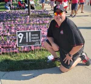 Rodney Moyer attended Ohio State Buckeyes vs. Oregon Ducks - NCAA Football on Sep 11th 2021 via VetTix