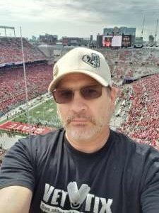 Christopher Fretz attended Ohio State Buckeyes vs. Oregon Ducks - NCAA Football on Sep 11th 2021 via VetTix