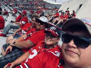 Roger attended Ohio State Buckeyes vs. Oregon Ducks - NCAA Football on Sep 11th 2021 via VetTix