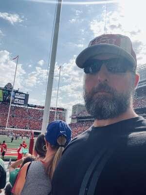 James attended Ohio State Buckeyes vs. Oregon Ducks - NCAA Football on Sep 11th 2021 via VetTix