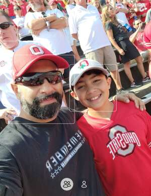 Paul L attended Ohio State Buckeyes vs. Oregon Ducks - NCAA Football on Sep 11th 2021 via VetTix