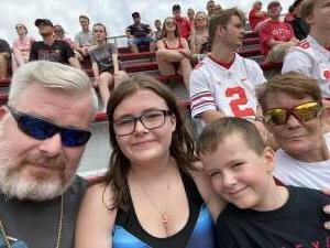 Pamela  attended Ohio State Buckeyes vs. Oregon Ducks - NCAA Football on Sep 11th 2021 via VetTix