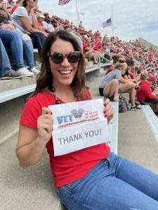 Patty M. attended Ohio State Buckeyes vs. Oregon Ducks - NCAA Football on Sep 11th 2021 via VetTix