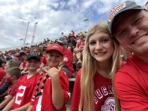 Ryan attended Ohio State Buckeyes vs. Oregon Ducks - NCAA Football on Sep 11th 2021 via VetTix