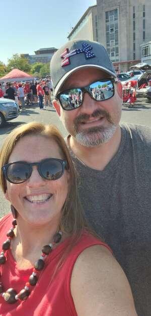 Carrie attended Ohio State Buckeyes vs. Oregon Ducks - NCAA Football on Sep 11th 2021 via VetTix