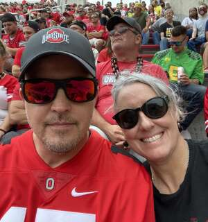 Becky attended Ohio State Buckeyes vs. Oregon Ducks - NCAA Football on Sep 11th 2021 via VetTix